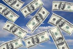 Beeld van dollar 100 Stock Foto