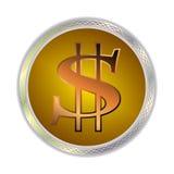 Beeld van een dollarteken Stock Foto's