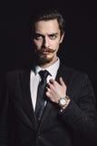 Beeld van een elegante jonge mens Royalty-vrije Stock Afbeelding