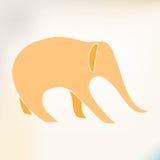 Beeld van een olifant Stock Afbeeldingen