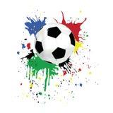 Beeld van een voetbal Stock Foto