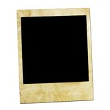 Beeld van een voorzijde van Polaroidcamera's. Stock Foto's