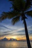 De zonsondergang/de zonsopgang van Thailand Royalty-vrije Stock Fotografie