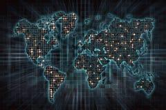 Beeld van financiële zaken op de wereld Royalty-vrije Stock Afbeeldingen