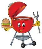 Beeld 5 van het barbecueonderwerp vector illustratie