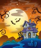 Beeld 8 van het spookhuisthema Royalty-vrije Stock Foto