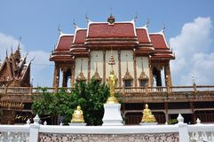 Beeld van het standbeeld van Boedha stock afbeeldingen