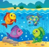 Beeld 4 van het vissenonderwerp Royalty-vrije Stock Afbeeldingen