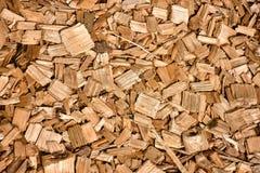Beeld van houten zaagselclose-up stock foto