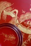 Beeld van Japan bij het Nieuwjaar Royalty-vrije Stock Foto's