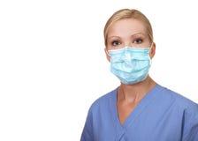 Beeld van jonge vrouwelijke verpleegster Royalty-vrije Stock Foto's