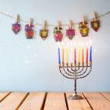 Beeld van Joodse vakantiechanoeka