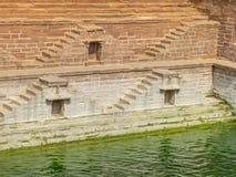 Beeld van Ka Jhalra van Stap goed Toorji in de stad van Jodhpur stock foto