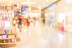 beeld van kleinhandelswinkel Vage achtergrond Royalty-vrije Stock Afbeeldingen