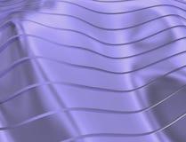 BEELD VAN KROMMEN EN LIJNEN OVER BLAUWACHTIGE GOUDEN TRANSPARANTE KLEUR vector illustratie
