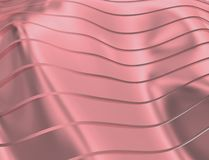 BEELD VAN KROMMEN EN LIJNEN OVER PURPLE EN METAALkleur vector illustratie