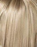 Beeld van lang, rechtstreeks blond kapsel Royalty-vrije Stock Afbeelding