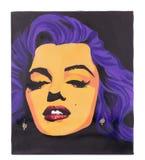 Beeld van Marilyn Monroe stock afbeeldingen