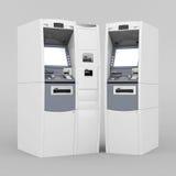 Beeld van nieuw ATM Stock Afbeelding