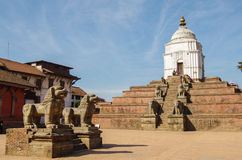 De Tempel van Nyatapola, Nepal Stock Fotografie