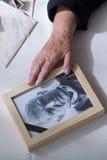 Beeld van overledene Stock Afbeeldingen