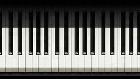 Beeld van piano 01 Royalty-vrije Stock Afbeeldingen