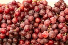 Beeld van rijpe sappige rode druiven royalty-vrije stock foto's