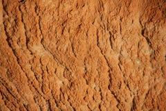 Beeld van rode droge textuur Stock Fotografie