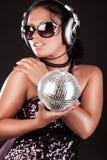 Beeld van sexy DJ Royalty-vrije Stock Afbeeldingen