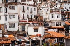 Beeld van Taxco, Guerrero een kleurrijke stad in Mexico royalty-vrije stock fotografie