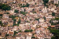 Beeld van Taxco, Guerrero een kleurrijke stad in Mexico stock afbeelding