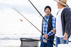 Beeld van visser Royalty-vrije Stock Afbeelding