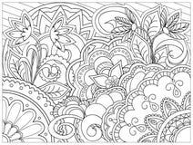 Beeld in zentanglestijl vector illustratie