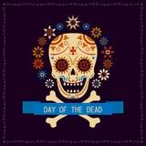 Beelddag van de Doden banner Vector beeld vector illustratie
