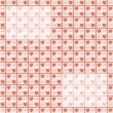 Beelden op het behang van de valentijnskaartendag vector illustratie