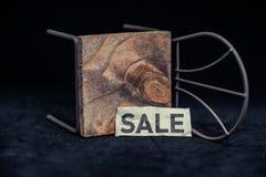 Beelden van de verkoop van de tekenskorting Stock Foto's