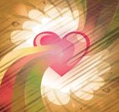 Beelden van het hart Stock Foto