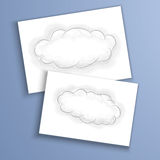Beelden van wolken Stock Afbeeldingen