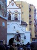 Beeldenkerk - VIRGIN VAN ZAMARILLA Royalty-vrije Stock Afbeelding