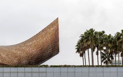 Beeldhouw de Vissen, door Frank Gehry Stock Afbeelding