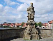 Beeldhouwwerk in Bamberg Stock Fotografie