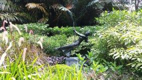 Beeldhouwwerk bij de Botanische Tuinen van Singapore Royalty-vrije Stock Foto