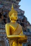 Beeldhouwwerk bij wat arun, Bangkok, Thailand Stock Afbeelding