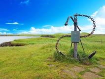 Beeldhouwwerk dat nog in IJsland wordt gevormd royalty-vrije stock foto