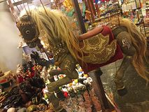Beeldhouwwerk die uit standbeeldensouvenri phuket bestaan Thailand Royalty-vrije Stock Fotografie