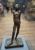 Beeldhouwwerk door Degas, Musee D ` Orsay royalty-vrije stock afbeelding