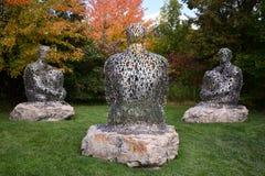 Beeldhouwwerk in Grand Rapids, Michigan royalty-vrije stock fotografie