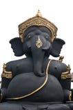 Beeldhouwwerk Hindoese God Ganesha Royalty-vrije Stock Foto's