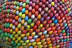 Beeldhouwwerk in Kiev, dat uit 3000 eieren bestaat. Royalty-vrije Stock Foto's