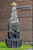 Beeldhouwwerk, Monument aan Trondheim, royalty-vrije stock afbeelding